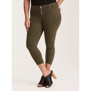 Torrid High-Rise Ultra Skinny Jeans 22 Jegging
